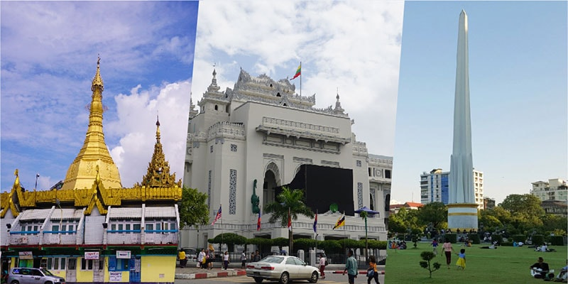 Full Day Travel - City Center Yangon