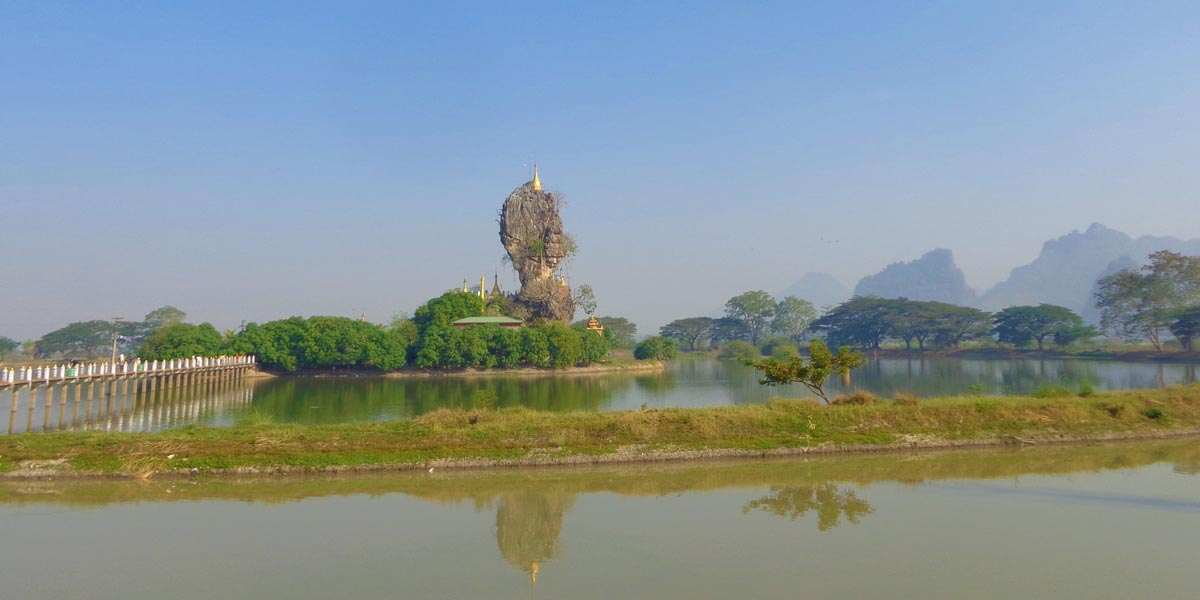 Kyauk Kalat Pagoda - the best attraction in Kayin State