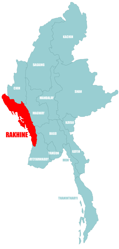 Map - Rakhine State