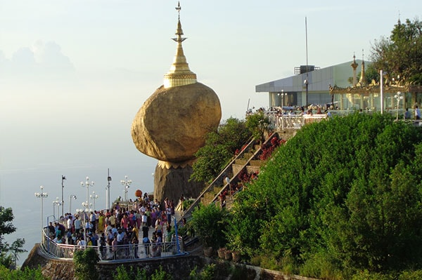 Golden Rock - Myanmar Attraction