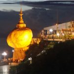 Golden Rock - Kyaiktiyo Pagoda in Myanmar